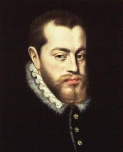 Philip II of Spain by Giacomo Antonio Moro