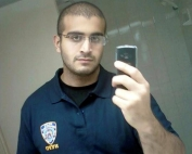 An undated photo from a social media account of Omar Mateen, who Orlando Police have identified as the suspect in the mass shooting at a gay nighclub in Orlando, Florida, U.S., June 12, 2016. To match Insight USA-ISLAMIC STATE/CRIME   Omar Mateen via Myspace/Handout via REUTERS  ATTENTION EDITORS - THIS IMAGE WAS PROVIDED BY A THIRD PARTY. EDITORIAL USE ONLY. REUTERS IS UNABLE TO INDEPENDENTLY VERIFY THIS IMAGE. NO RESALES. NO ARCHIVE. THIS PICTURE WAS PROCESSED BY REUTERS TO ENHANCE QUALITY.